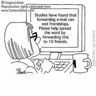 A simple Tax Forward Turns into an E-Mail Battle!