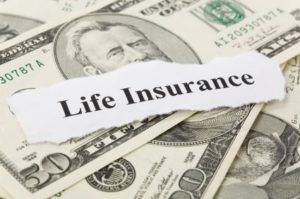 life insurance typed