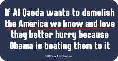 Obama Beating Al Qaeda