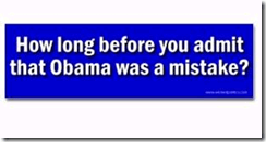 Obama Mistake