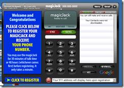 MagicJack Screen Shot
