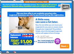 magicJack Screen Shot - Insurance