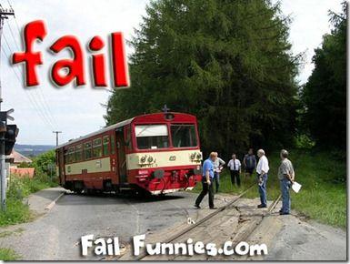 Train off the Tracks