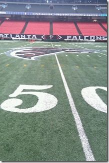 50 Yard Line GA Dome