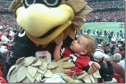 My Son and Freddie the Falcon