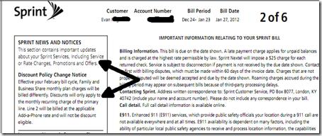 Sprint Bill