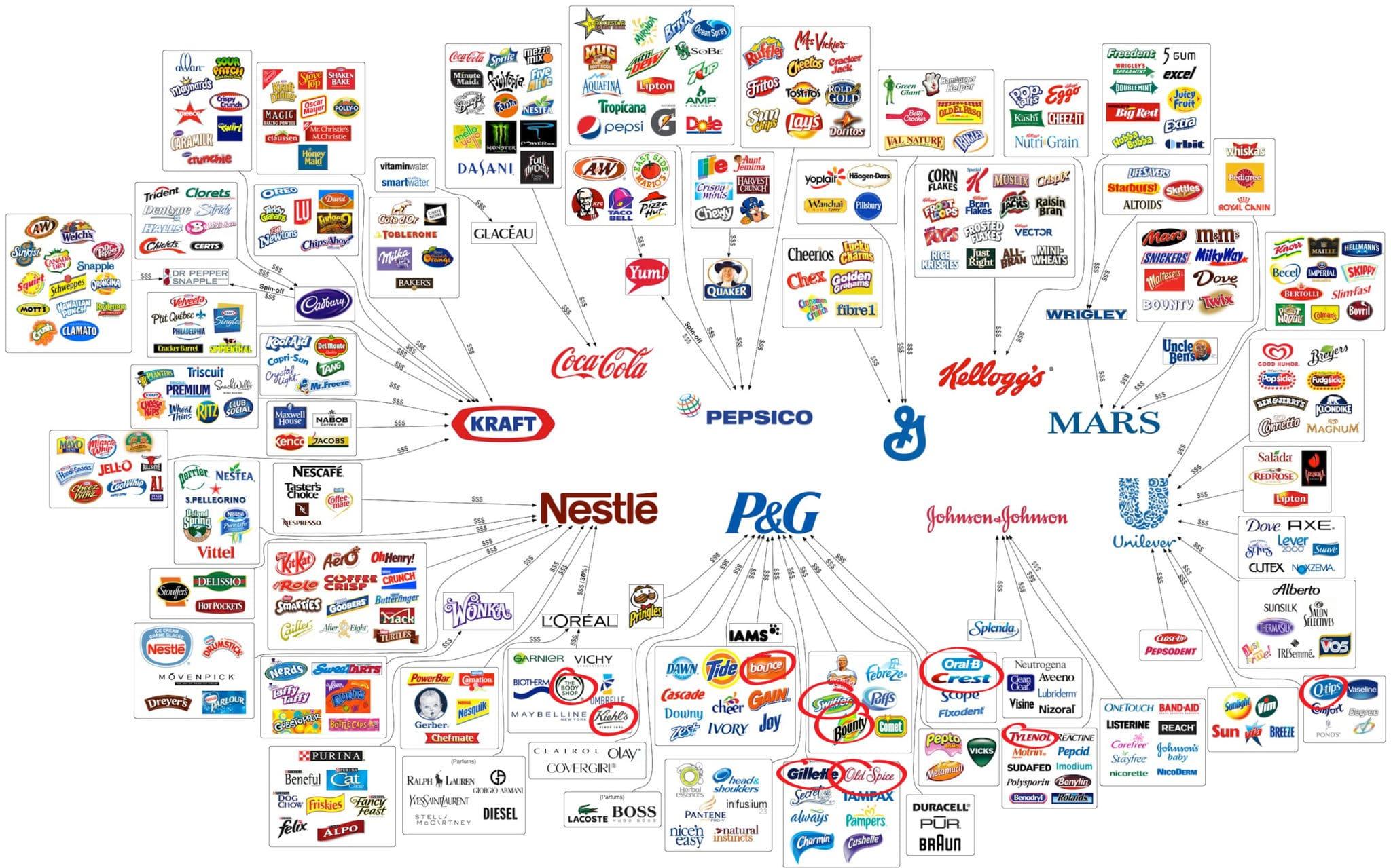 Common Household Product Matrix