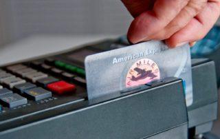 American Express Swiped