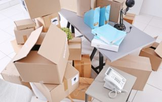 Boxes to move an office