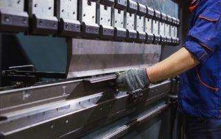 Man working on Heavy Machinery